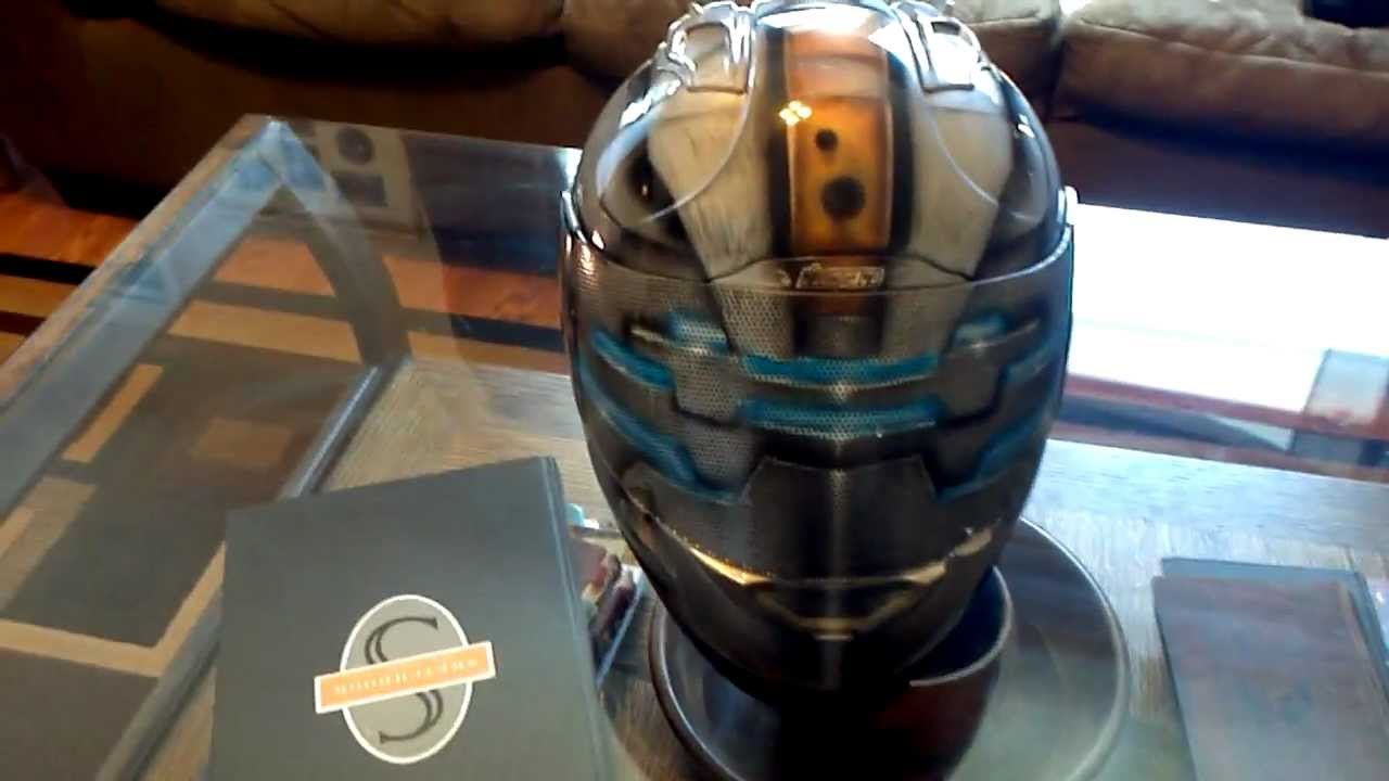 Deadspace 2 Helmet Custom Airbrushed By Airgraffix Com