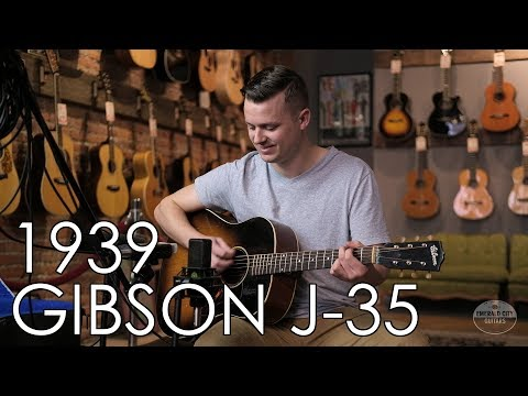 """""""Pick Of The Day"""" - 1939 Gibson J-35"""