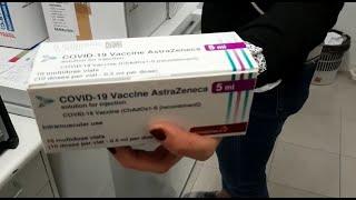 Las CCAA empiezan a recibir las 1.056.500 dosis de vacunas de AstraZeneca