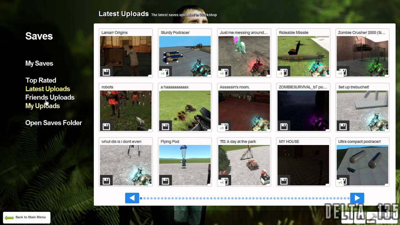 A short introduction to gmod 13 part 1 main and spawn menu
