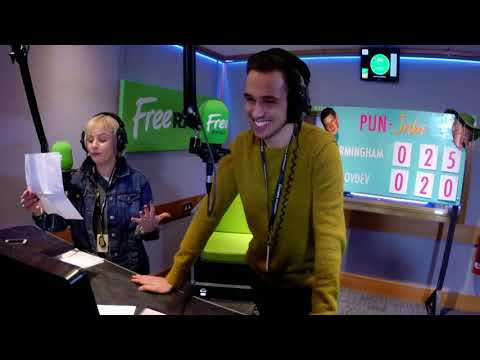 Tim from Free Radio Birmingham Breakfast creates sound effects from The Archers