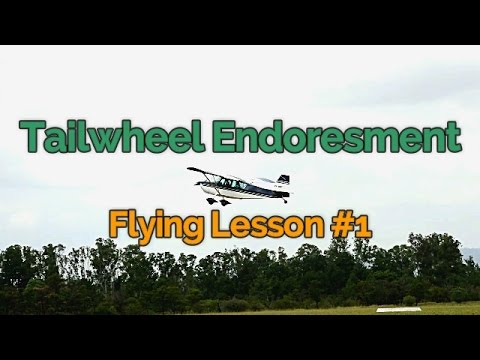 Tailwheel Training Endorsement: Flying Lesson # 1 | Citabria | Full Audio with ATC | YSCN