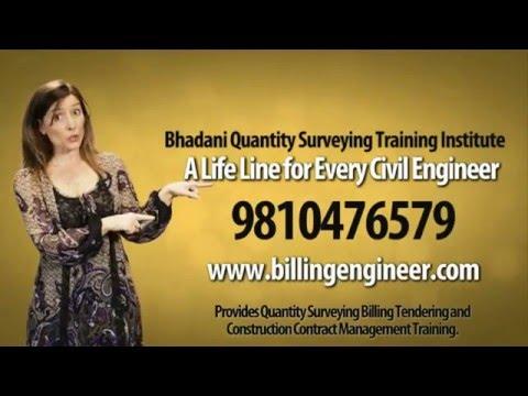 Bhadani Quantity Surveying Training Institute - Promotional Video