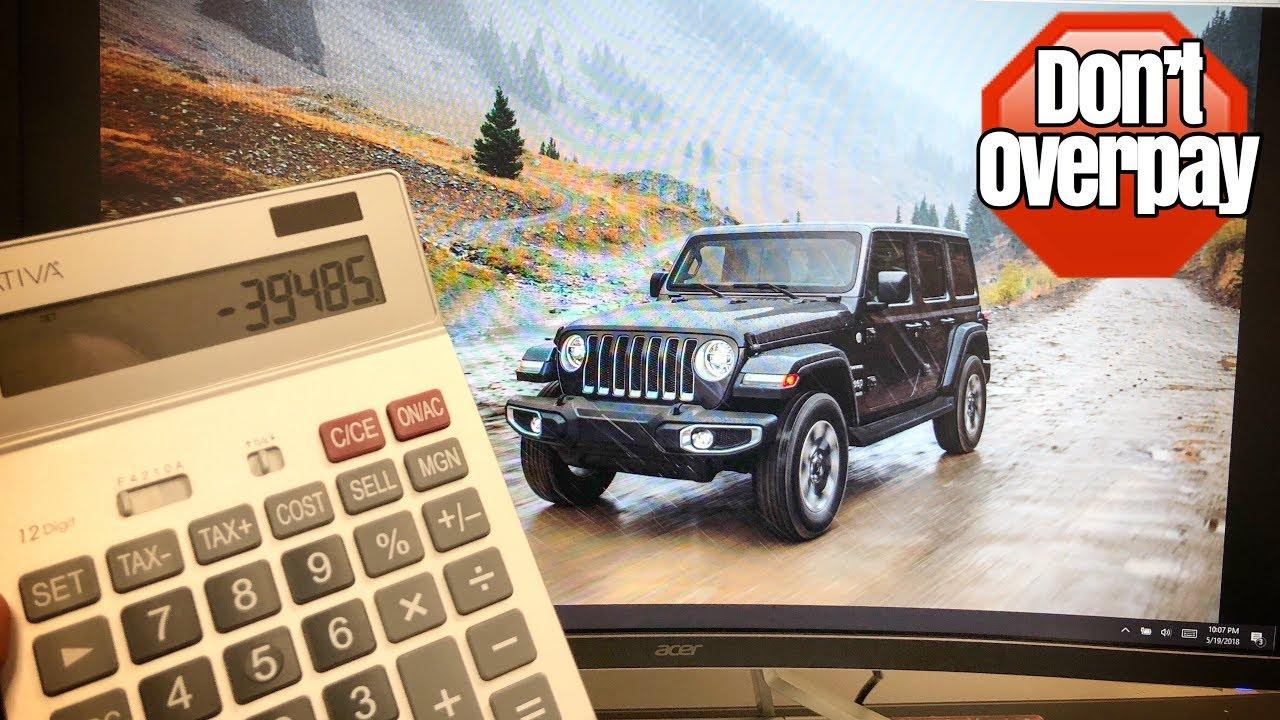 NEW Jeep Wrangler JL Negotiation Tips. (Lease Deals, Discounts, Residuals,  And Money Factors.)