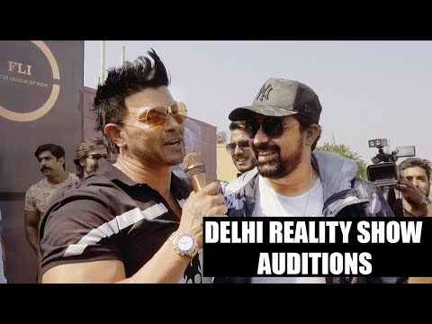 Delhi Reality Show Auditions