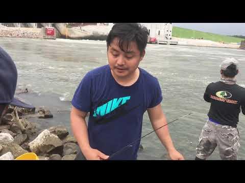 Karen Boyz-Lake Red Rock White Bass Fishing 2019
