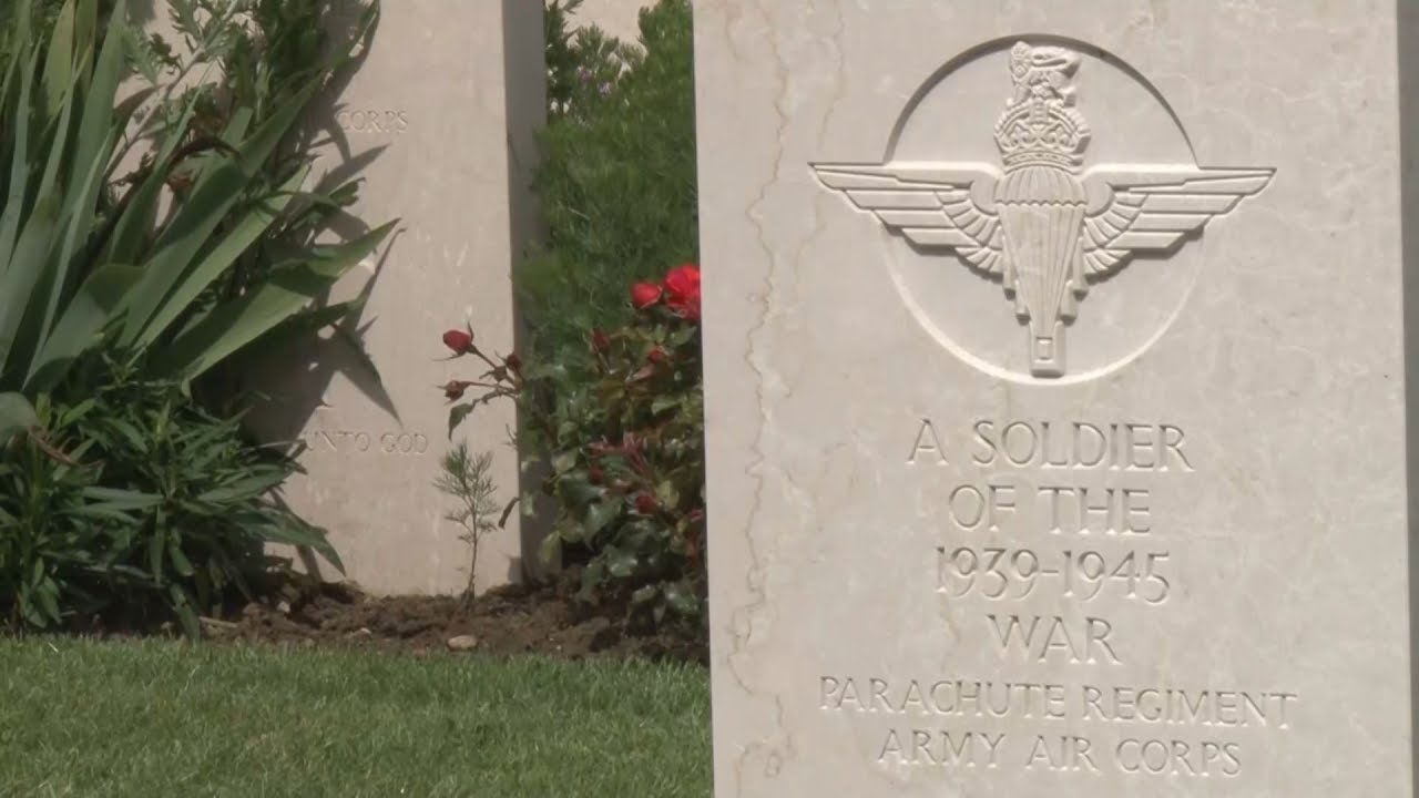 D-Day Heroes: Veterans Lay Wreaths At Bayeux Cemetery | Forces TV