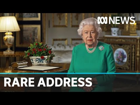 Queen Elizabeth II Calls For Unity During Coronavirus Pandemic In Rare Televised Address | ABC News