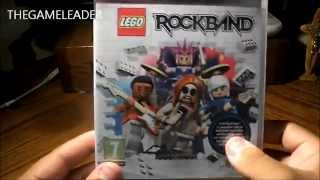 LEGO Rockband (PS3) - Unboxing