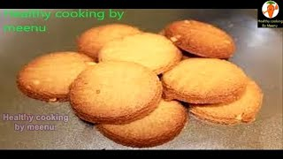 Atta Biscuit eggless without oven thumbnail