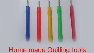 How to make Quilling Tool at home | Quilling Tool