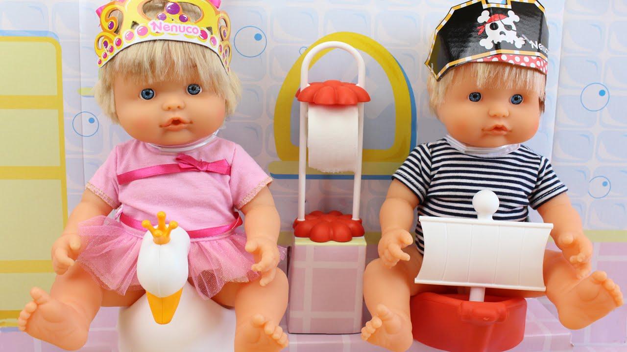 Nenuco gemelos interactivos van al ba o juguetes de - Nenuco bano de burbujas ...