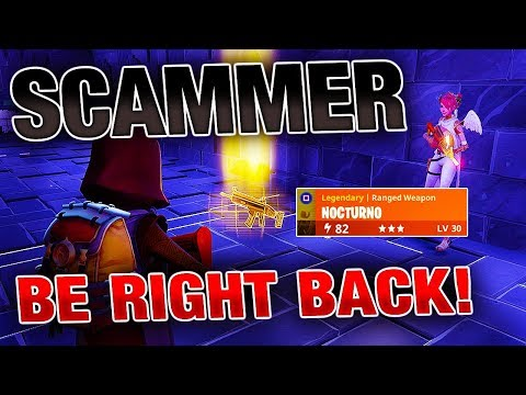 Going AFK While Trading My Nocturno! | *INSANE* Experiment | Fortnite Save The World