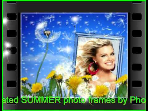 IMIKIMI Animated SUMMER Photo Frames by Photo Fun and Art