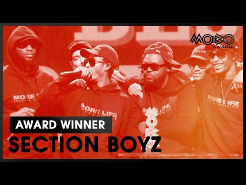 SECTION BOYZ   BEST HIP-HOP ACT acceptance speech at MOBO Awards   2016   MOBO