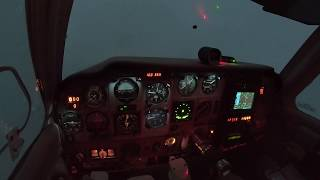 Gambar cover My first Instrument approach in actual IMC at night!