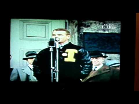 Nile Kinnick - Big Ten Icon #7 - Part  4 of 4