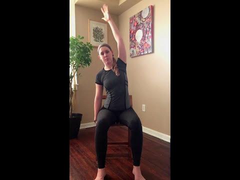 Chair Yoga for Sciatica