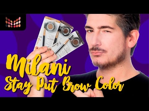 Review - Milani Brow Color - Gel para Cejas de Larga Duración