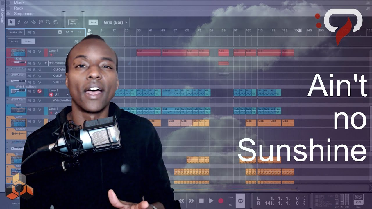 """How I Remixed: Bill Withers - """"Ain't No Sunshine"""" in Reason 10"""