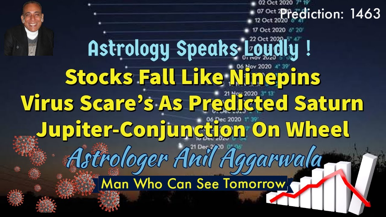Astrology and stocks symbol