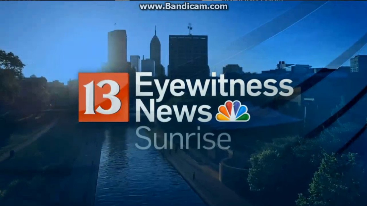 WTHR: Channel 13 Eyewitness News Sunrise Open--2017 - YouTube