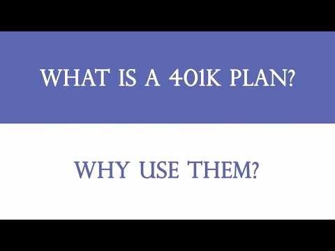 How To Save For Retirement- What is a 401K Plan & Why Use Them