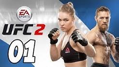 Let's Play EA Sports UFC 2 Gameplay German Deutsch PS4 Part 1 - Pablo Sorbo / Ersteindruck