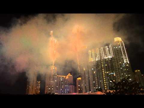 Kembang Api Central Park Jakarta