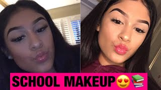 Video GRWM SCHOOL MAKEUP- serina rueda download MP3, 3GP, MP4, WEBM, AVI, FLV Juli 2018
