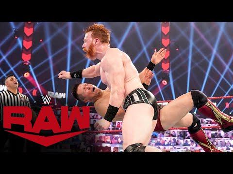 Sheamus vs. The Miz & John Morrison – Handicap Match: Raw, Jan. 25, 2021