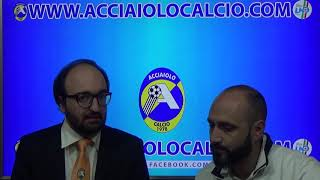 Interviste post partita Acciaiolo - Ardenza