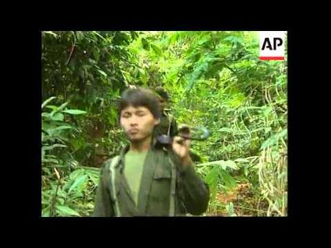 THAILAND/BURMA: SECURITY STEPPED UP FOLLOWING UPSURGE IN BANDITRY