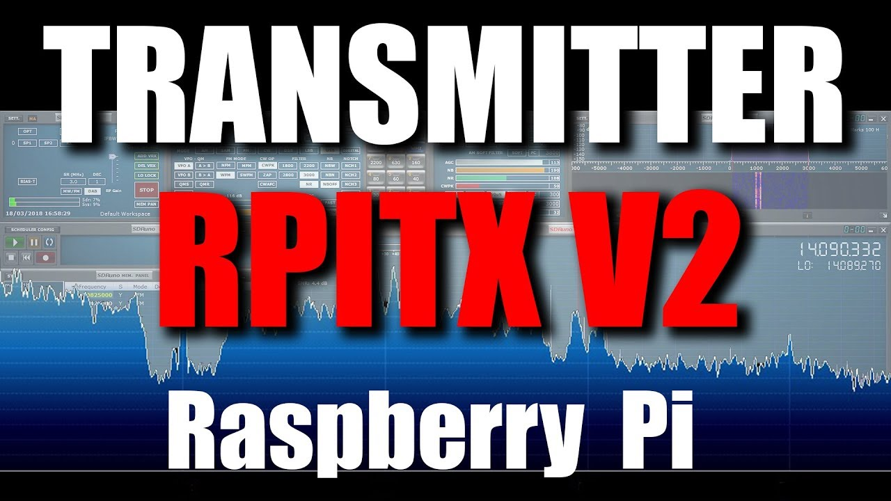 Raspberry Pi Transmitter with RPITX Version 2
