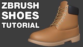 كيفية إنشاء الأحذية في برنامج ZBrush