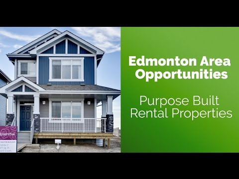 Edmonton Real Estate Investment Opportunity