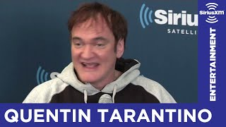 quentin tarantino you could not show django in england until the 90s siriusxm stars