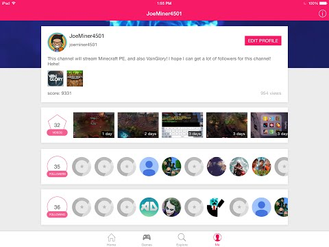 Broadcast Live Stream Mobile Gaming On IOS On Shou.TV