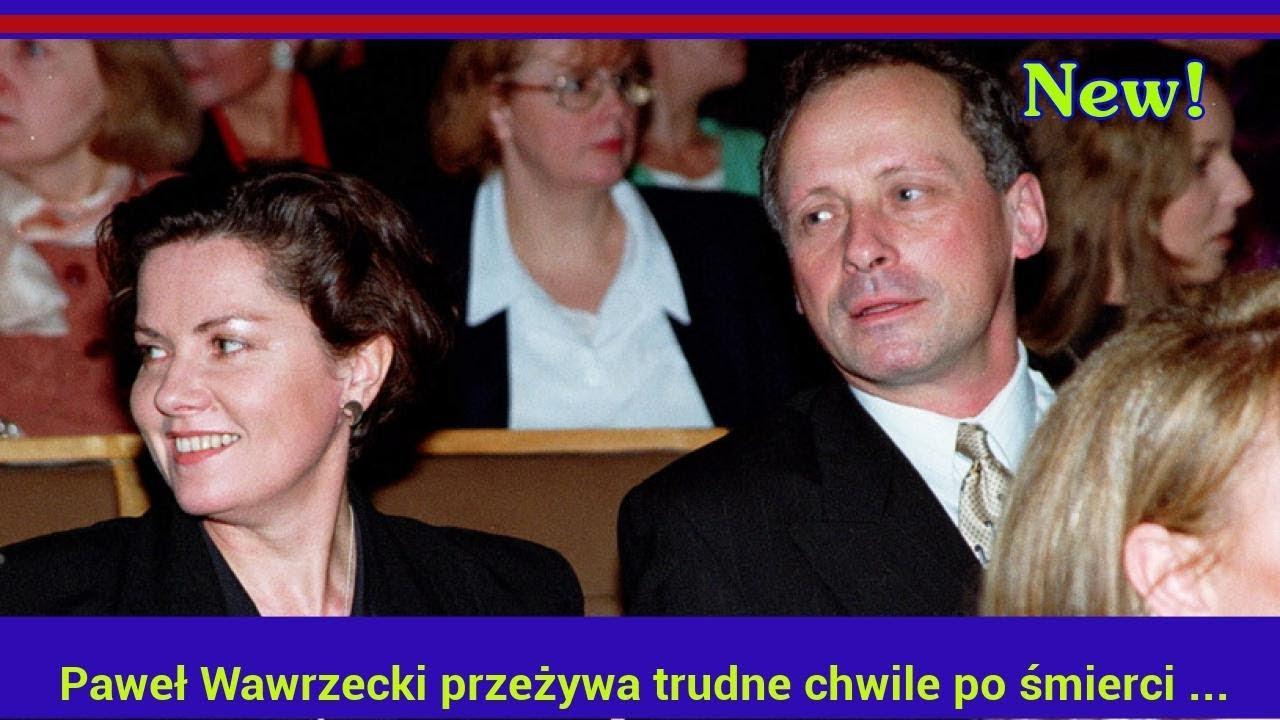 Paweł Wawrzecki przeżywa trudne chwile po śmierci Agnieszki Kotulanki
