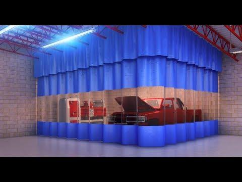 industrial curtain wall valance