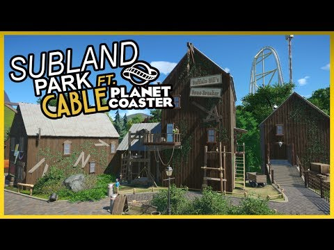 SUBLAND - Community Built Park - Ft Cable - Week 8 - PlanetCoaster