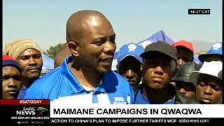 Mmusi Maimane campaigns in  Qwaqwa