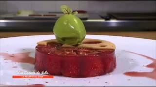 Recette : Gelée de fraise de Thierry Marx - Les Carnets de Julie - Confitures à la carte !