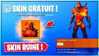 🔴DEFI WEEK 7 DEBLOQUAGE OF SKIN RUIN ⚠️ (Live fortnite en)⚠️! STREAM FR-PS4 720p60fps!🔥
