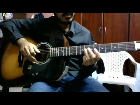 Adiga Adiga Easy Telugu Guitar Lesson Melody (Part 3/3) -1string
