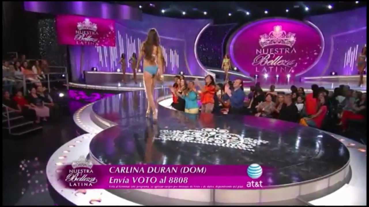 Nuestra Belleza Latina 2013 - Desfile 12 Semi-Finalistas ...