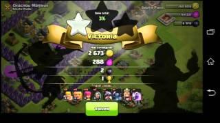 Primer video de clash of clans!!