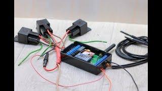 Анатомия автозапуска, Arduino+SIM800L (narodmon.ru, SMS,DTMF)