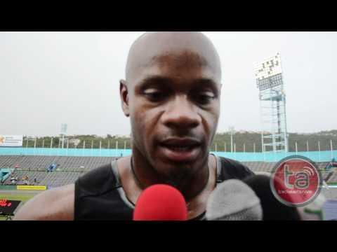 Asafa Powell Sees 2012 As A Tough Year