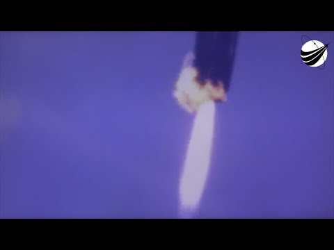 SpaceX Water Landing - CRS-16 - Tracker Footage  12-05-2018